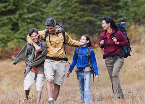 Пешеходный туризм в подростковом возрасте.