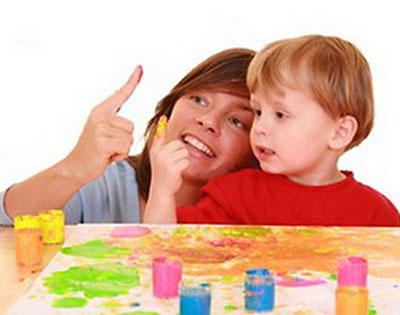 Рисуем с ребенком необычными способами