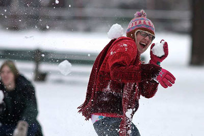Зимние забавы для всей семьи