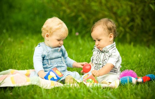 Малыш и его первое лето