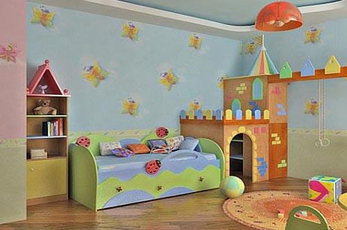 Как обустроить детскую комнату и не разорить семейный бюджет