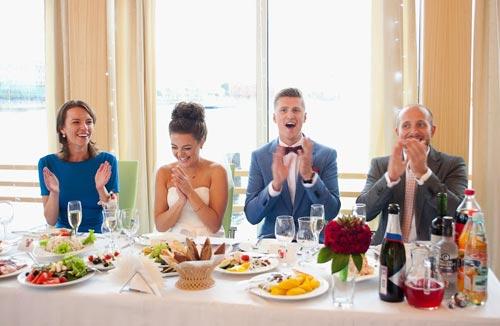 Скромная свадьба с фуршетом