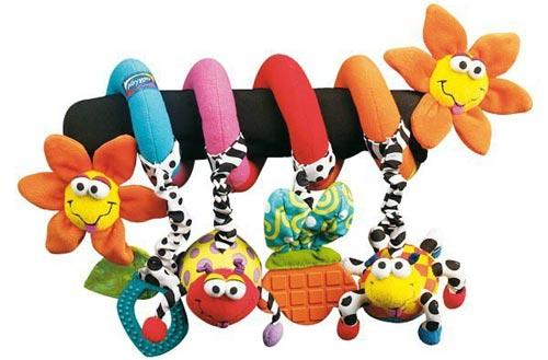 Выбираем игрушки для коляски