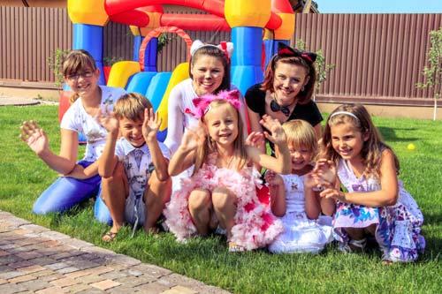 Организация необычных праздников для всей семьи