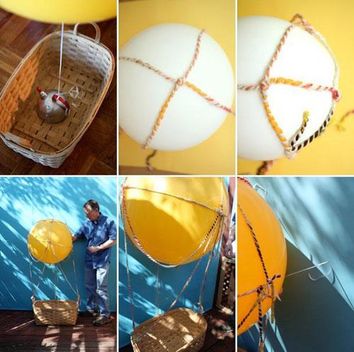Как сделать воздушный шар своими руками в  868