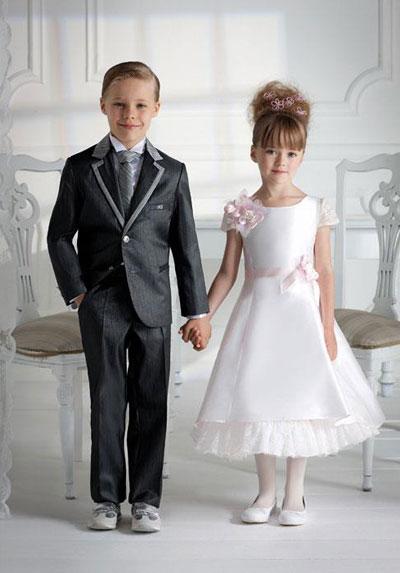Жених и невеста и дети