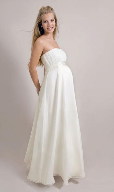 Фото свадебных платьев для беременных своими руками