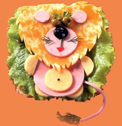 Удивите ребенка необычным бутербродом