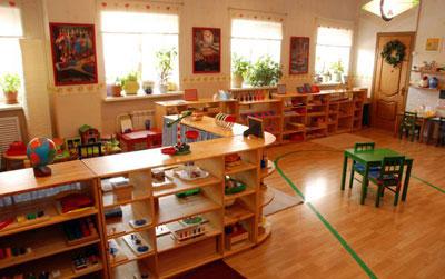 Детские заведения по методике М. Монтессори в Украине
