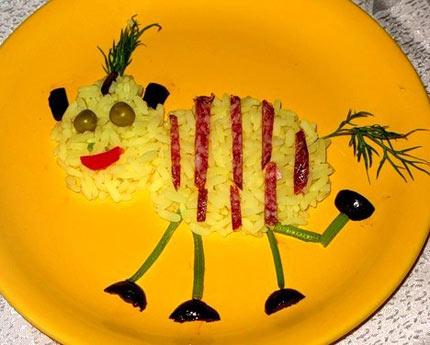 Украшение детских блюд. 40 идей в картинках: http://www.kraskizhizni.com/family/122-ukrashenie-detskih-blud