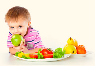 Питание ребенка летом