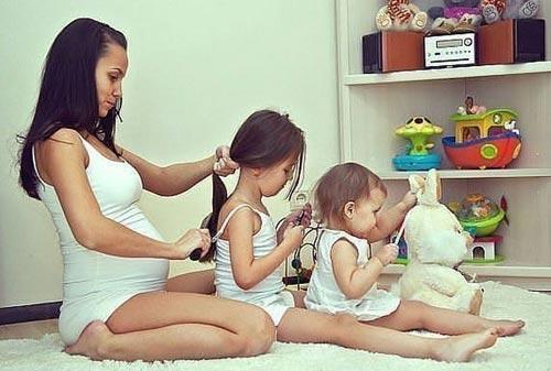 прически для мам в декрете