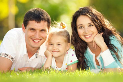 дети с родителями картинки