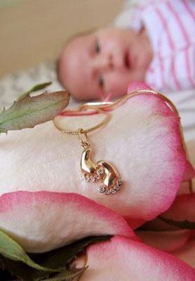 Подарок любимого за дочку