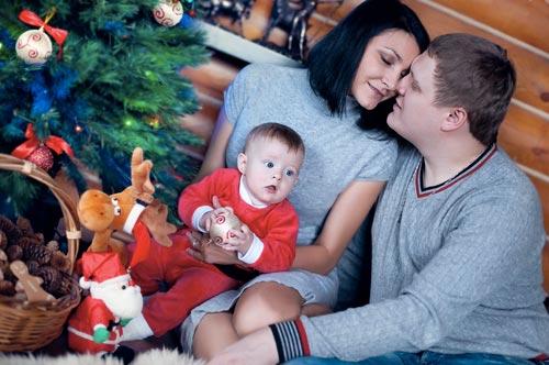 Как встретить первый новый год с ребенком