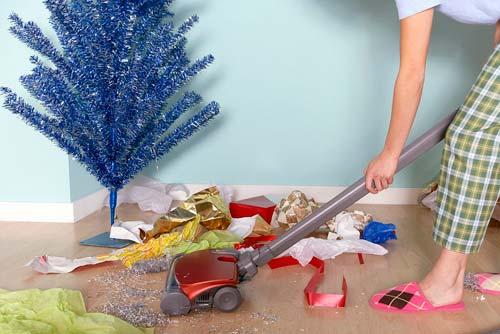 Как убрать квартиры после нового года