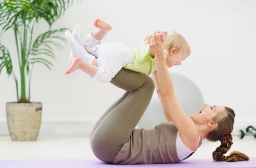 похудение после родов кесарево сечение