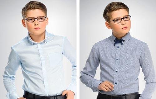 40b6df4a64d Школьные рубашки для мальчиков