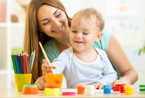 Первые шаги ребёнка в восприятии цвета