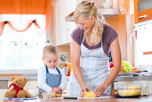 мамаша на кухни фото